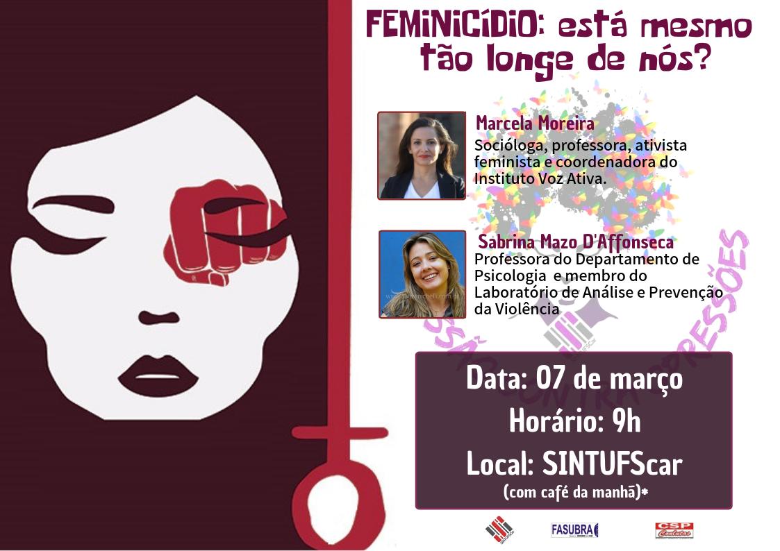 SINTUFSCar promove atividade sobre Dia Internacional da Mulher