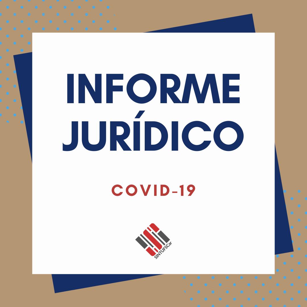 Informe Jurídico – COVID-19