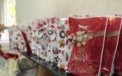 Entrega dos Kits de Fim de Ano