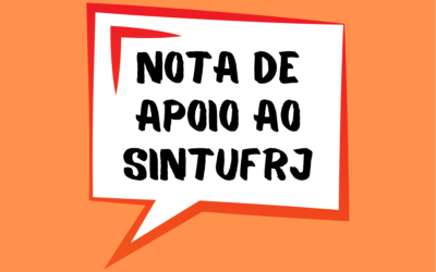 Nota de apoio ao Sintufrj