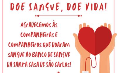 Campanha: Doe Sangue, Doe Vida!