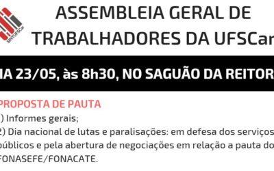 São Carlos: Assembleia Geral