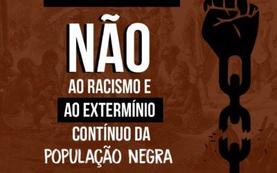 13 de maio: Dia Nacional de Denúncia Contra o Racismo – Vidas Negras Importam