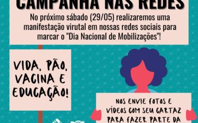 29M: CAMPANHA NAS REDES SOCIAIS