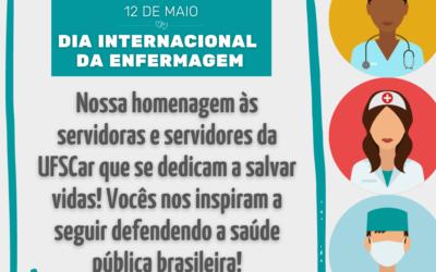 12 de maio: Dia Internacional da Enfermagem