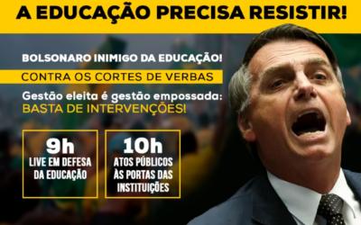 A EDUCAÇÃO PRECISA RESISTIR!