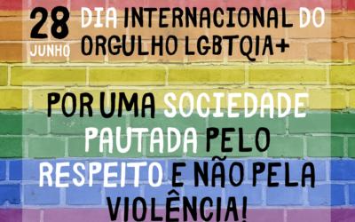 28 de junho: Dia Internacional do Orgulho LGBTQIA+