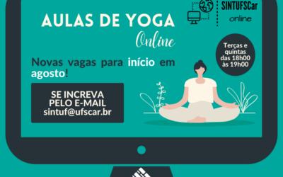 Yoga Online está com matrículas abertas